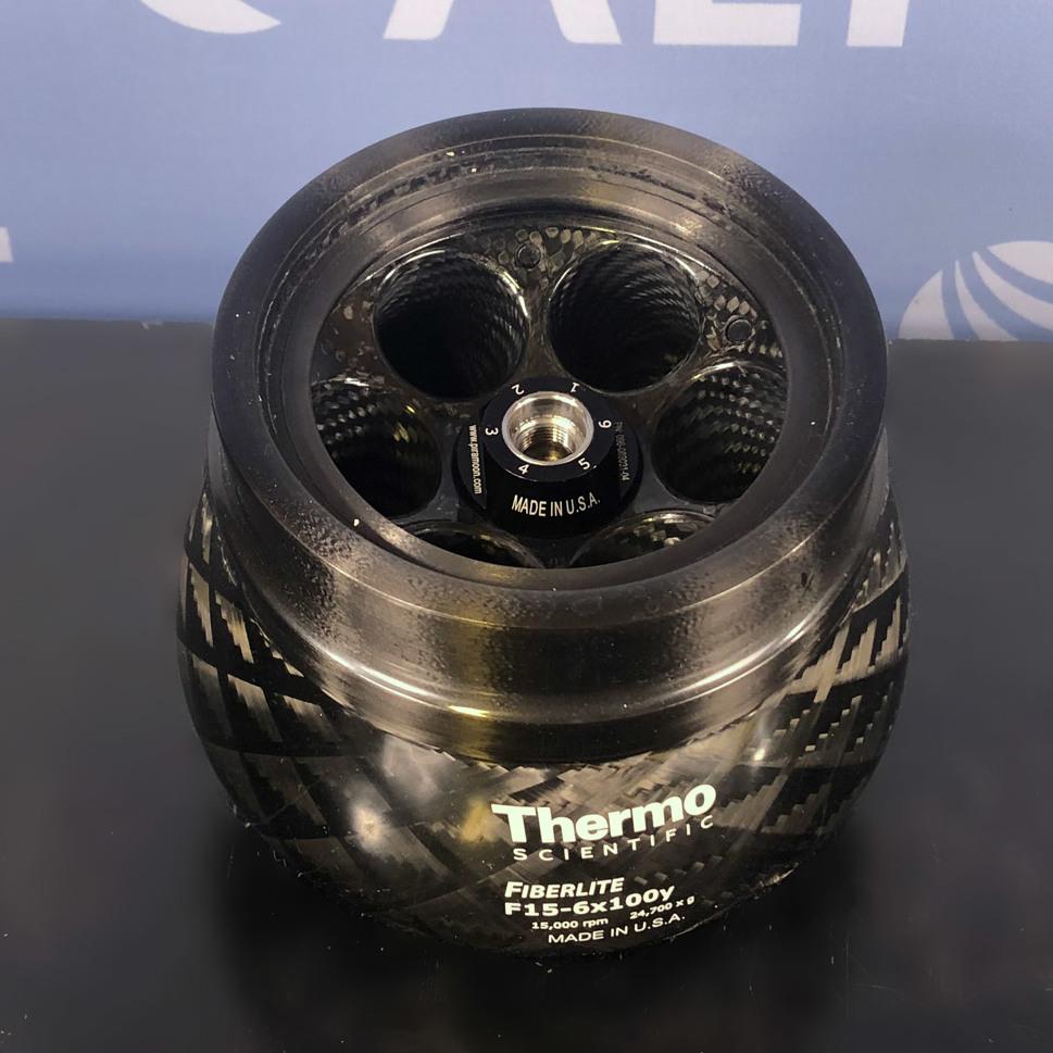 Thermo Scientific F15-6 x 100y Fiberlite Fixed-Angle Rotor Image