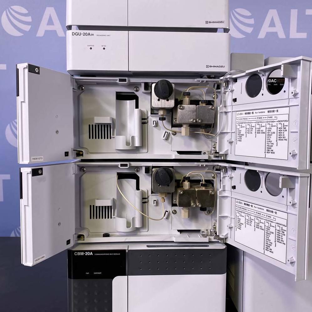 Shimadzu Prominence High Performance HPLC System Image