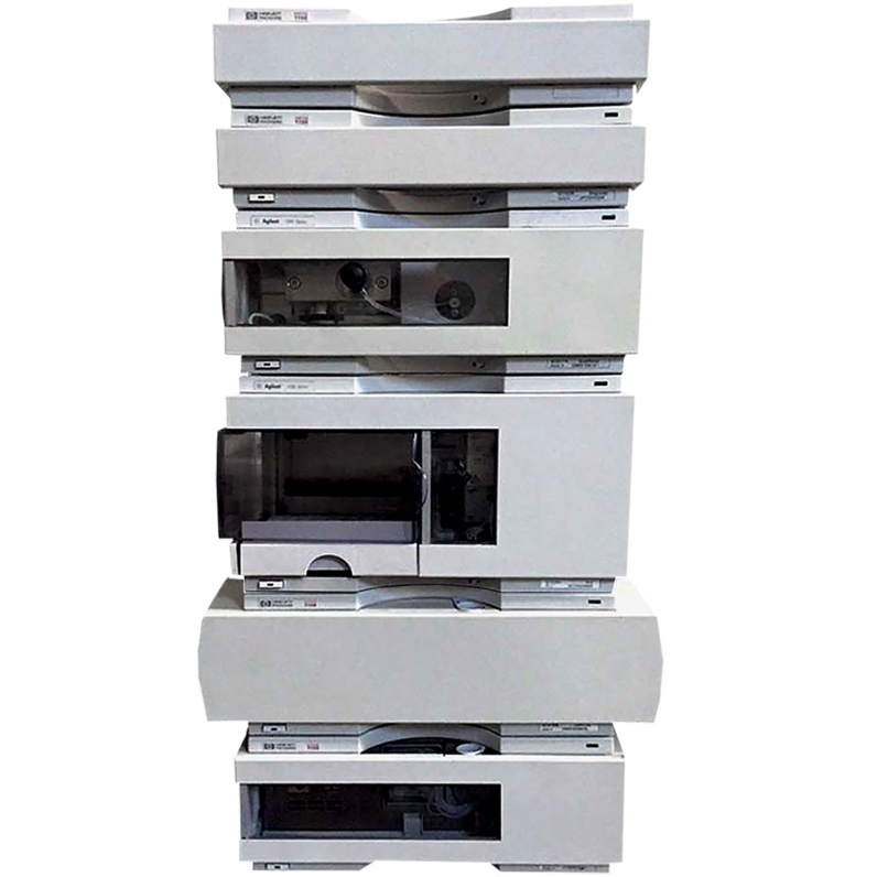 Agilent Certified Pre-owned 1100 Series HPLC System with G1311A, G1314A, G1313A, G1316A & G1322A Image