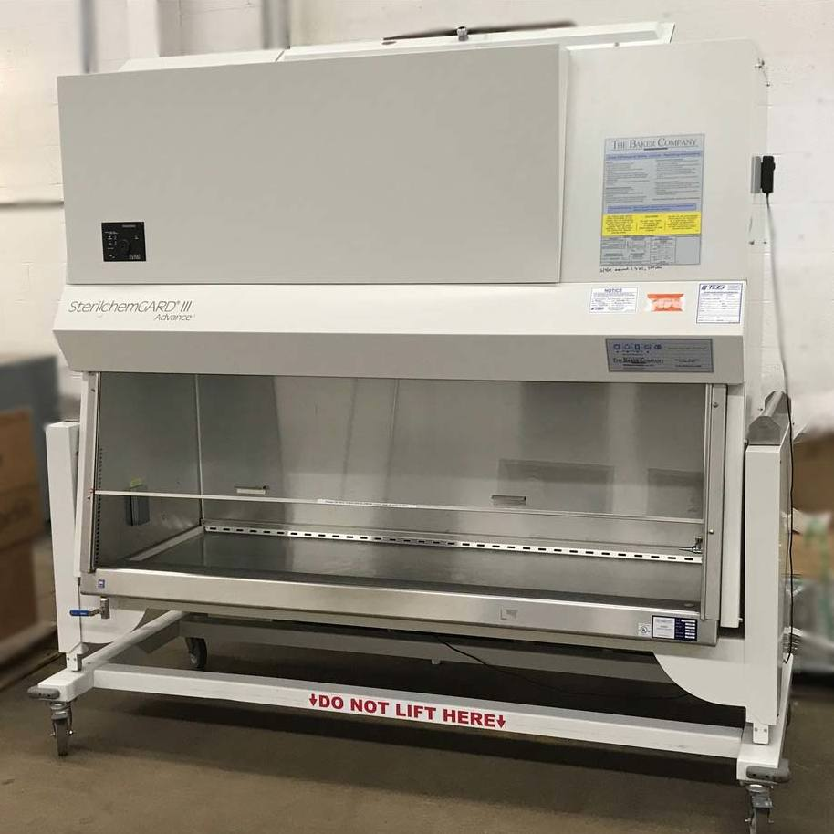 6' SterilchemGARD III Advance Class II Type B2 Biological Safety Cabinet Model SG603-TX with stand. Name