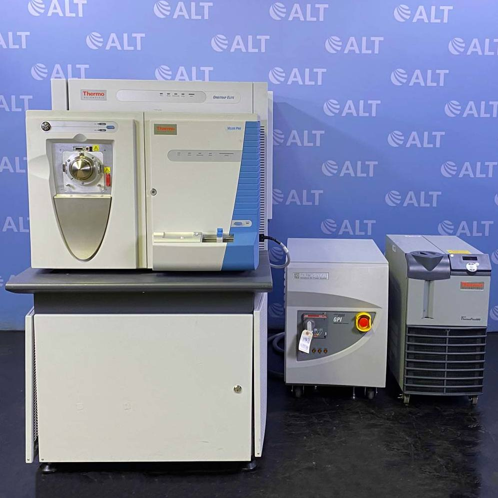 Thermo Scientific Velos Pro with Orbitrap Elite Mass Spectrometer, Neslab ThermoFlex 900 Chiller & Powervar Conditioner Image